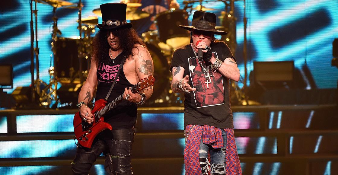 """¡Guns N' Roses tocó una """"nueva canción"""" en el Fenway Park de Boston!"""