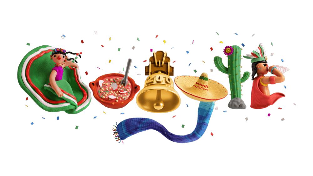 doodle Google México Independencia 2021