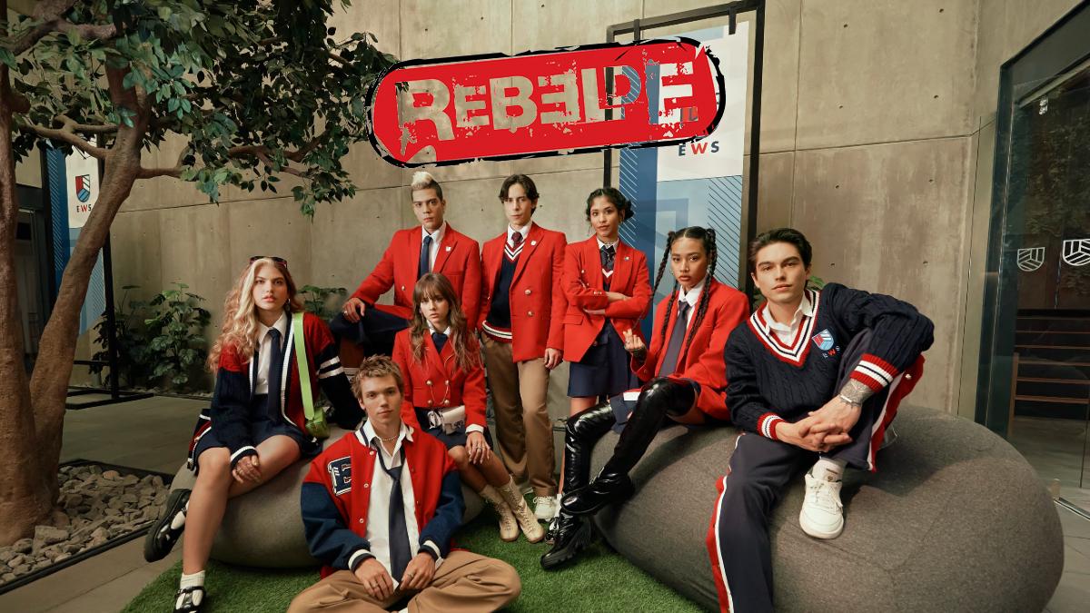 Rebelde serie Netflix