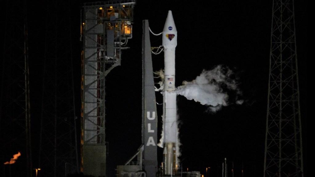 #Video Despega Lucy, misión que indagará en orígenes del Sistema Solar. Foto de NASA